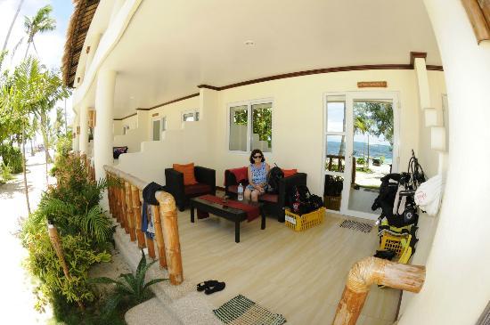 Ocean Vida Beach & Dive Resort : Siew view balcony