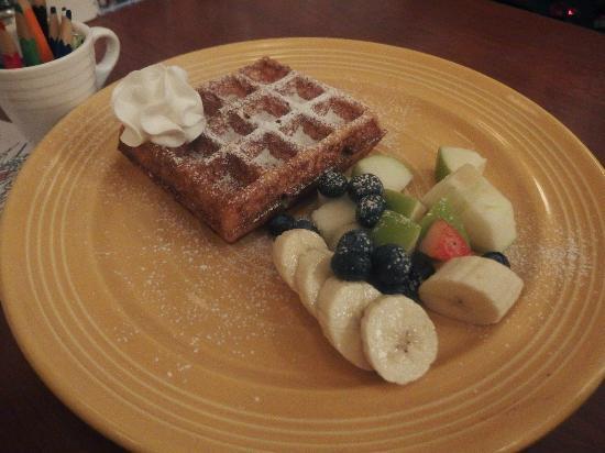 Green Waffle Diner: 小朋友版的窩夫
