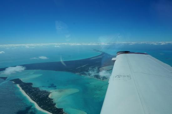 The Ocean Dream Beach Resort: flying in