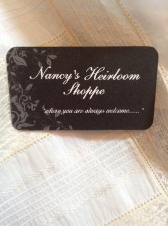 Nancy's Heirloom Shoppe