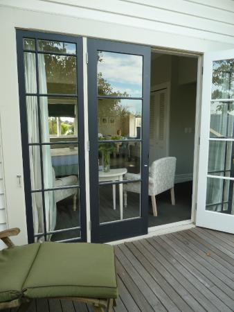 The Martinborough Hotel: Room to relax in privacy