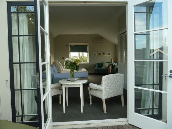 The Martinborough Hotel: View from the deck