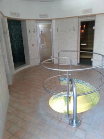 Hotel Cresta Indoor Steam Room Sauna And Step Down Plunge Pool