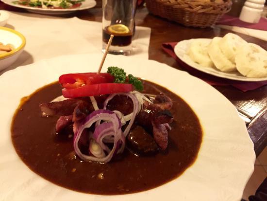 Moravska Restaurace : Goulash