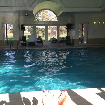 Has pool jacuzi steam room and sauna picture of - Shrewsbury hotels with swimming pools ...