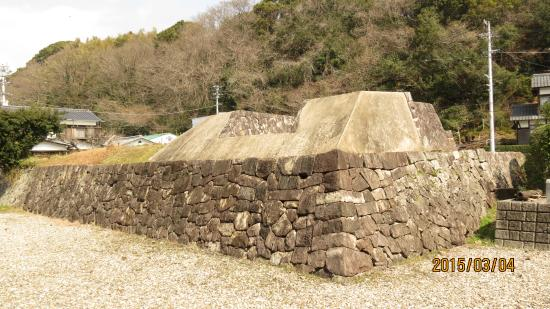 Uwajima City Historical Museum: 屋外施設 樺崎砲台跡