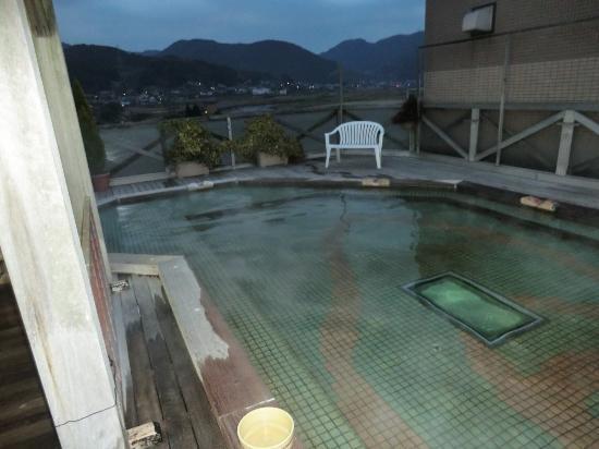 Kasuien : 屋上露天風呂