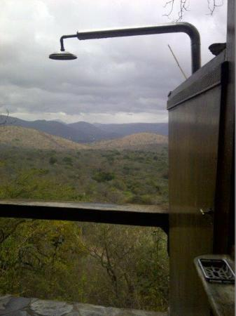 Kaapmuiden, South Africa: The view from the outside shower