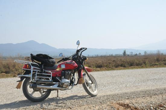 Phonsavan, Laos: Good bike, beautiful scenery!!
