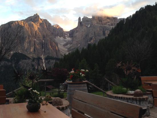 Rifugio Edelweiss: Abendstimmung