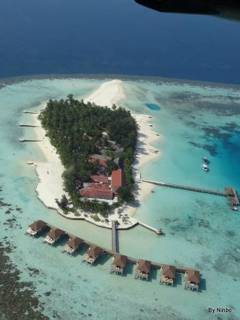 VOI Maayafushi Resort: Maayafushi dall'idrovolante