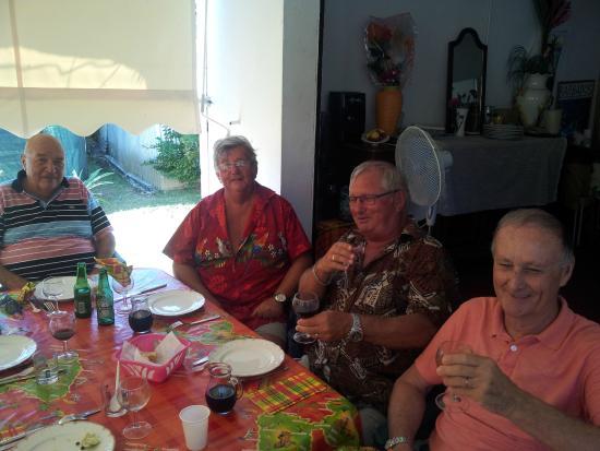 Остров Гранд-Тер, Гваделупа: même les messieurs ont le sourire