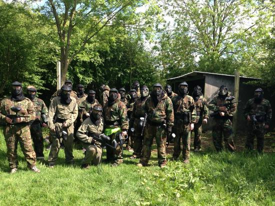 ‪Conflict Paintball‬