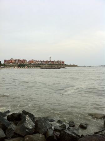 Marina Cape Hotel: from the sea