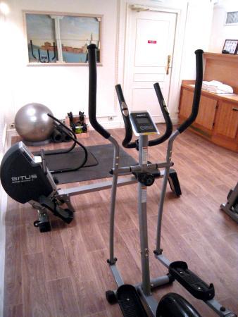 Hotel Princesse Caroline : Fitness room