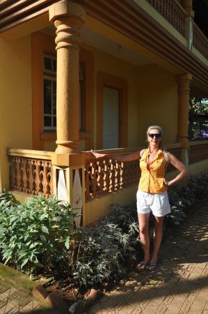 Palolem Guest House: Самое уютное в отеле - балкончики