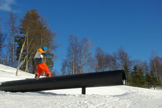 Slaatta Skisenter - Geilo Snowsports: Rail park