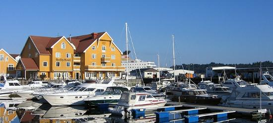 Flora Municipality, Norveç: Guest harbour at Quality Hotel.