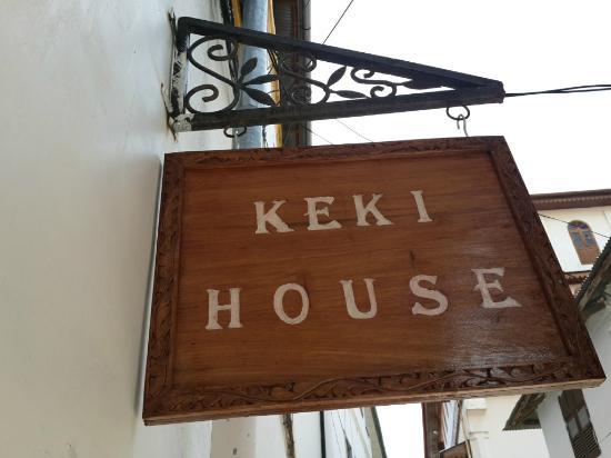 Keki House : Sign