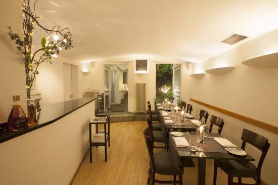 Außen Alster Hotel: Restaurant