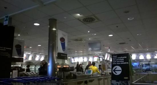 self service picture of ikea roma anagnina rome
