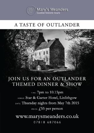 Mary's Meanders: Scottish Traditional Evening with food & entertainment inspired by Outlander