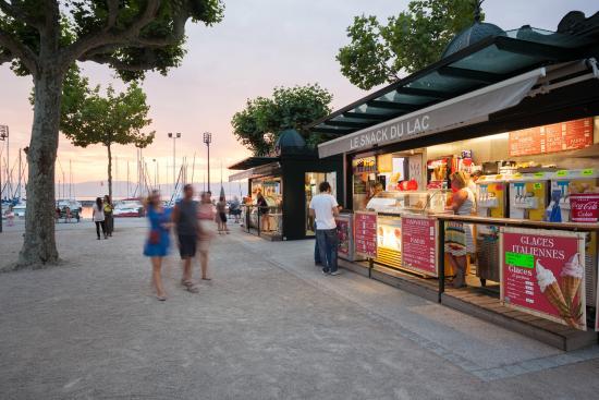 Kiosques du port de rives picture of thonon les bains haute savoie tripadvisor - Restaurant port de thonon ...