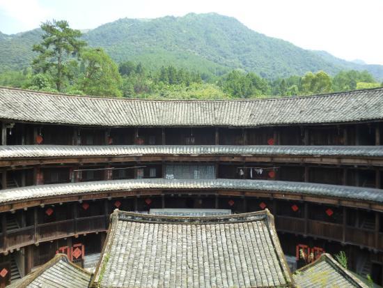 Yongding County, จีน: Всё гармонично
