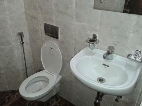 Hotel RDB Palace & Vista Rooms : Toilet