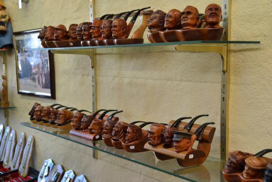 Une belle pipe en cadeau sculptée Les-pipes-de-cogolin