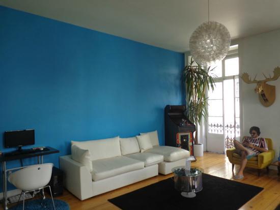 Lisbon Lounge Hostel: Lounge