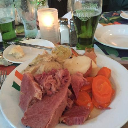 Crossroad Pub: Irish dinner