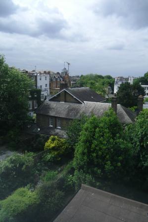 easyHotel London Earls Court: vista dalla finestra