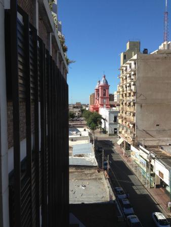 Hotel Ancasti: Vista de la Catedral desde la habitación