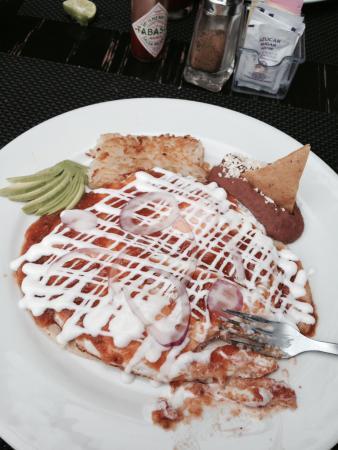 Hotel Mar de Cortez : Hotel Breakfast-Huevos Rancheros