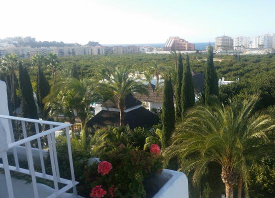 Hotel Suite Albayzin del Mar: vista desde balcón.