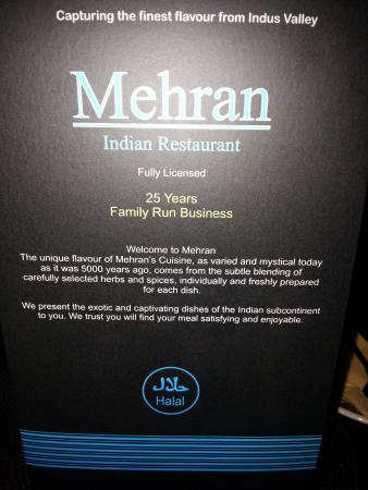 Mehran Indian Restaurant