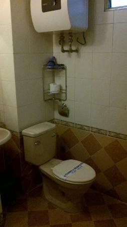 Green Diamond Hotel: The bathroom