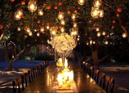 Royal Palms Resort and Spa: Historic Orange Grove Events Evening