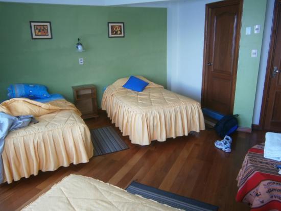 Perla del Lago : Rummet på  1:a våningen