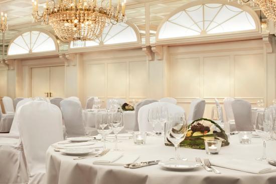 Le Meridien Parkhotel Frankfurt: Europasaal Banquet Setup
