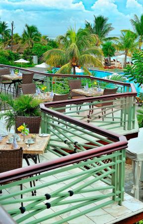 Le Meridien Ile Maurice: Terrace 180 Degree Restaurant