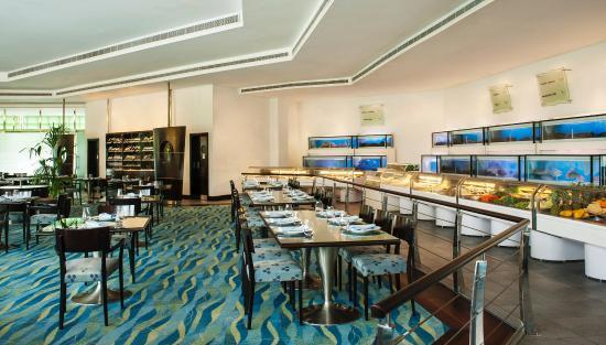 Le Meridien Dubai Hotel & Conference Centre: Seafood Market