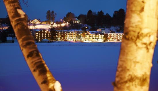 Golden Arrow Lakeside Resort: Winter at the Golden Arrow