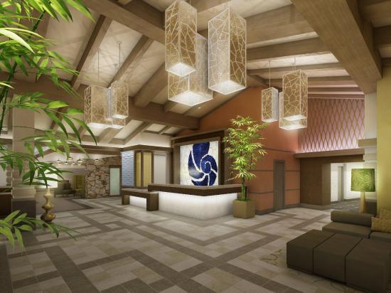 هوتل إنديجو إيست إند: Hotel Indigo East End Lobby Rendering (%)