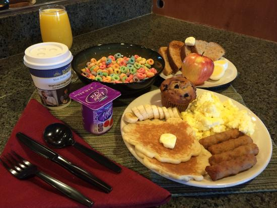 Best Western Northwest Lodge: Breakfast Plate