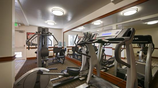 San Mateo, Kalifornien: Fitness Center