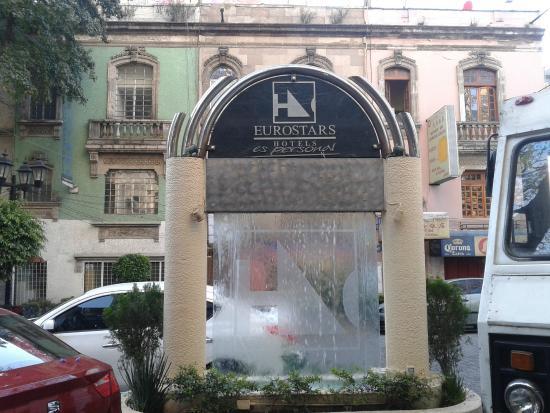 eurostars zona rosa suites londres 115 colonia juarez cidade do m xico picture of. Black Bedroom Furniture Sets. Home Design Ideas