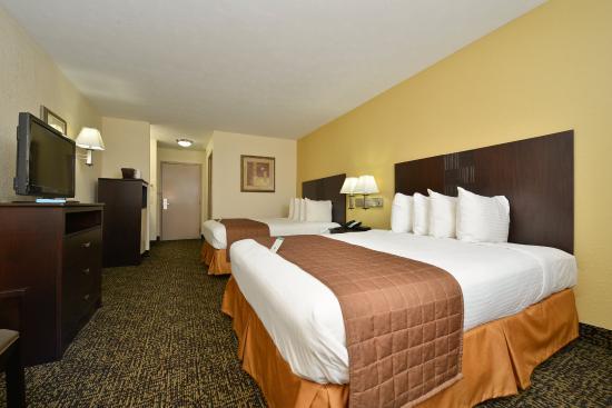 Best Western Inn Two Queen Room