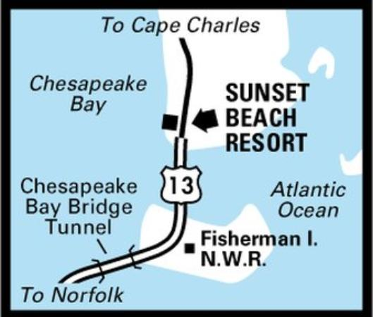 Sunset Beach Resort: Regional Map